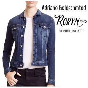 Adriano Goldschmted Robyn Denim Jacket.